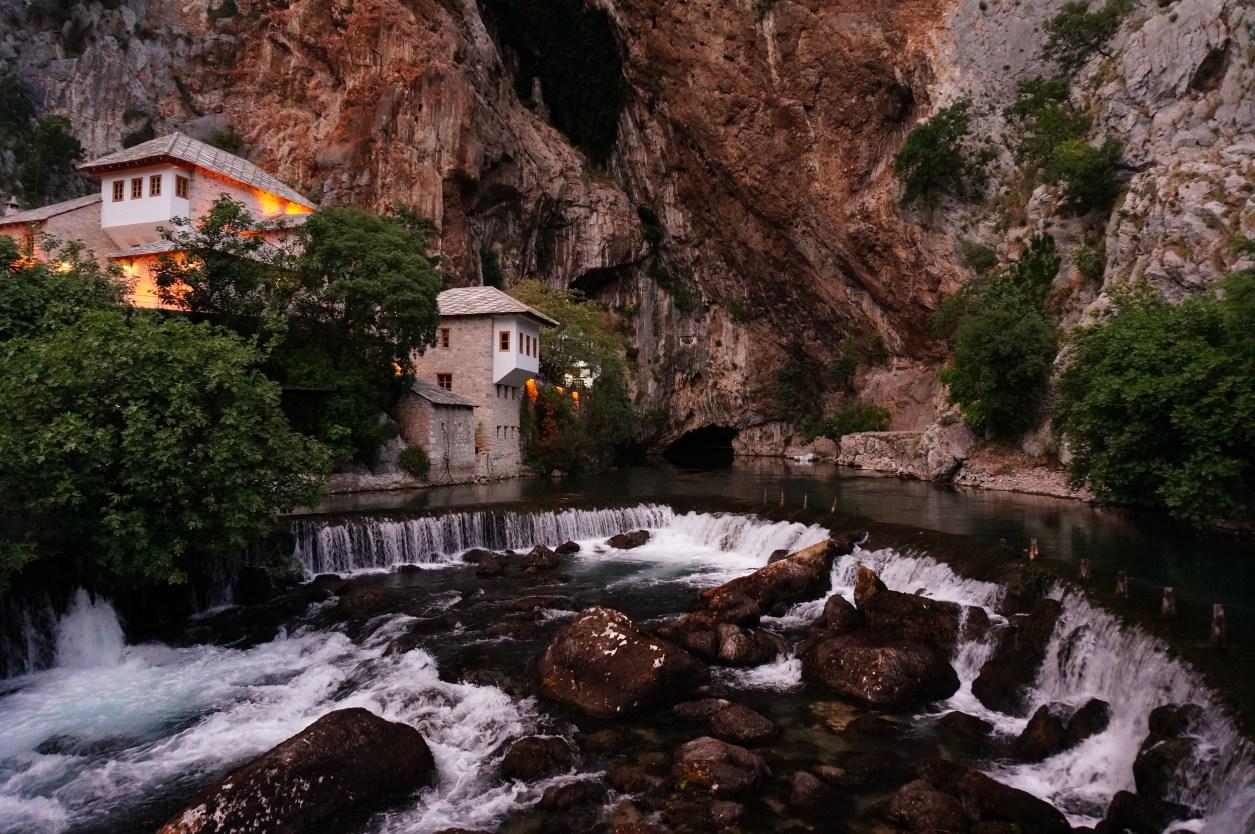 Laura Fairbourn Blagaj tekke in Bosnia