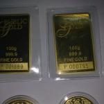 Gold Bar 100g Public Gold