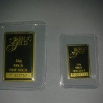 Gold Bar 50g dan 20g Public Gold