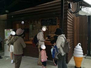 京都市動物園内のカフェ