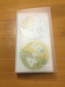 無印のCD•DVDケース