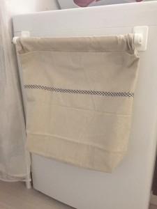おしゃれ着洗い洗濯物入れを手作り