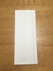 無印のPPケースを目隠しする方法 100均白色用紙を使って