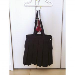 幼稚園の制服 スカート 収納方法