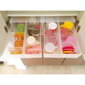 無印良品 無印 PPケース 便利 万能 子供用コップの収納 収納 キッチン用品