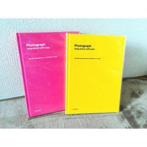 幼稚園 幼稚園で購入する写真 幼稚園で購入した写真 アルバム ピンク 黄色 ロフト LOFT 写真整理 整理整頓 収納