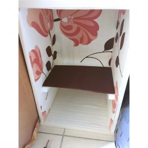 カラーボックスに棚を作る カラーボックスDIY カラーボックスリメイク 余った木材