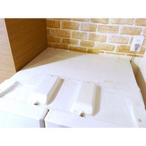 コストコ プレスンシール 冷蔵庫上 冷蔵庫の上 予防 汚れ予防 汚れを予防 油汚れ予防 大掃除