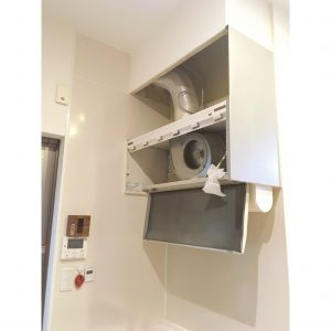 キッチン レンジフード リメイクシート 白 色の変更 色を変える 収納 整理整頓 DIY レンジフード解体 主婦