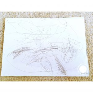 2歳の娘が描いた絵 保管方法 整理 収納