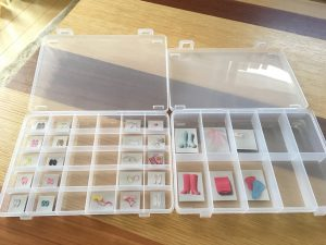 リカちゃん リカちゃん収納 リカちゃん整理整頓 SIKIRI セリア ダイソー DAISO 100均 おもちゃ収納アイデア 収納 整理整頓 ブログ