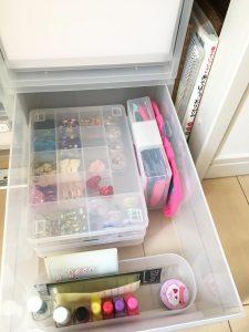 セリア 100均 収納 整理整頓 小物収納 細かいものの収納 子供のおもちゃ 片付け 整理整頓
