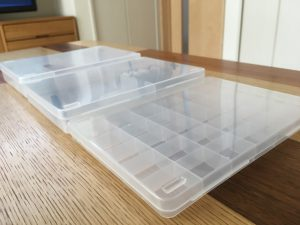 セリア 100均 SIKIRI ケース 小物ケース 細かいおもちゃ 整理整頓 収納 片付け 子供のおもちゃ ビーズ ヘアゴム収納