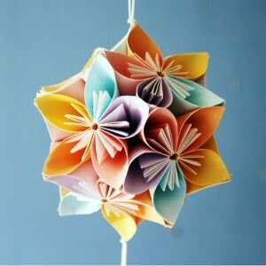 Origami Workshop Kusadama Flower- 18th March 2019 - Juul at Home