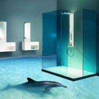 Les océans inondent les salles de bain