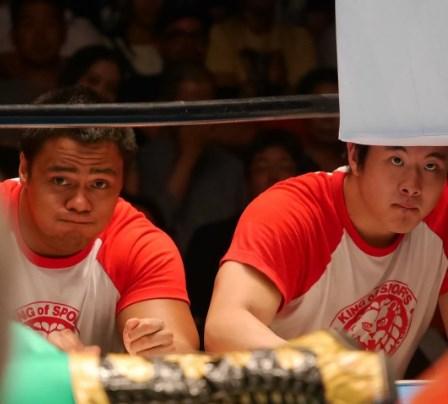 新日本プロレスヤングライオン「アーロン・ヘンリー」