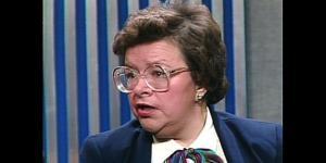 Barbara Mikulski on Meet the Press, 1983
