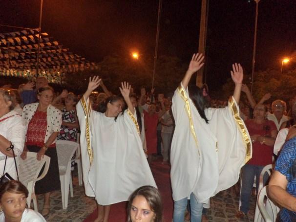 festa da padroeira -dança liturgica