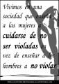 No violar