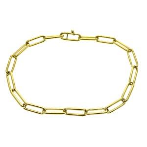 anker schakel armband goud