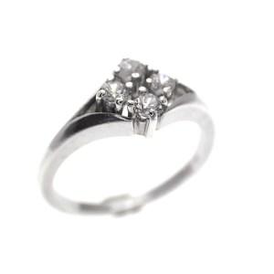 zilveren ring zirconia