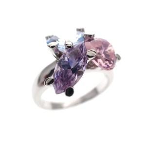 zilveren ring grote stenen