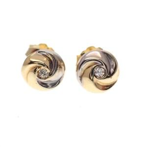 bicolor oorstekers zirconia