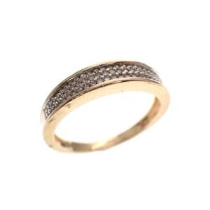 gouden rijring diamanten