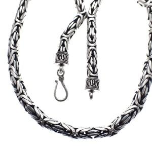 zilveren bohemian ketting