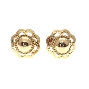 retro oorknoppen goud