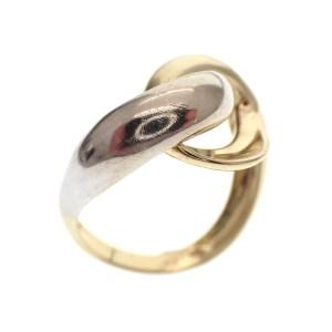 gouden dames ring apart