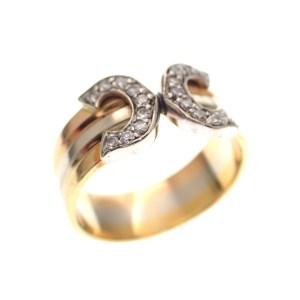 gouden pinkring gouden kinderring diamant