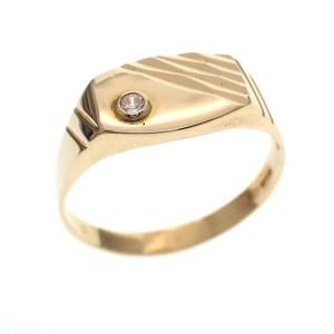 gouden heren ring