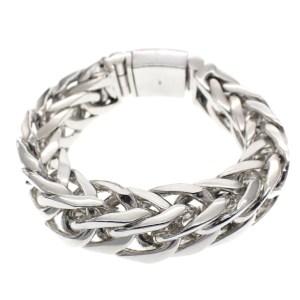 dikke zilveren heren armband