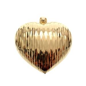hanger groot hartje goud