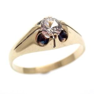 goedkope echt gouden ring