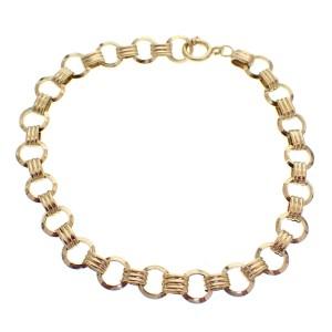 gouden dames armband