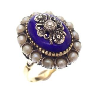 victoriaanse ring goud