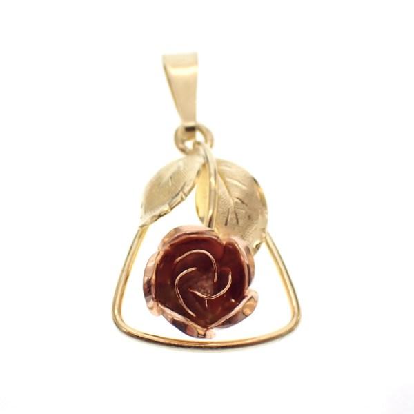 vintage pendant gold