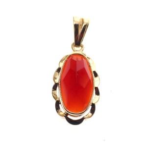 vintage golden pendant