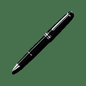 Der luxuriöse Meisterstück Classique Rollerball ist zu einer markanten Designikone avanciert. Korpus und Kappe bestehen aus schwarzem Edelharz mit einem weißem Montblanc Emblem als Intarsie. Drei platinierte Ringe mit geprägtem Montblanc Schriftzug und einplatinierter Clip mit individueller Seriennummer unterstreichen das zeitlose Design des luxuriösen Rollerballs. Um Ihre Persönlichkeit zum Ausdruck zu bringen, bietet Montblanc einen kostenlosen Gravurservice für Namen oder Initialen auf der rechten Seite oder auf dem eleganten platinierten Clip an. In einer Zeit, in der Individualität immer seltener wird, können Sie mit unseren Rollerballminen in Mystery Black, Pacific Blue, Nightfire Red, Fortune Green, Amethyst Purple oder Barbados Blue Ihren ganz persönlichen Schreibstil unterstreichen.