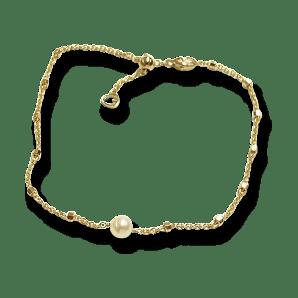 Gellner Delight Armband aus 750 Roségold mit Akoya-Perle