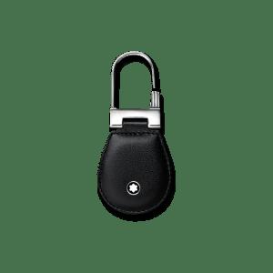Montblanc Meisterstück Schlüsselanhänger aus Edelstahl und Rindsleder MB14085
