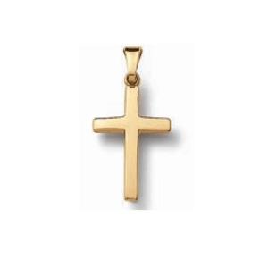 Kreuz Anhänger Gelbgold poliert jetzt online kaufen. Kostenlose Lieferung, schnell uns sicher bestellen. Juwelier Winkler seit 1953.