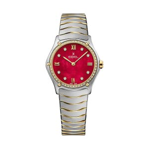 EBEL Uhren für Damen bei Juwelier Winkler kaufen. EBEL Sport Classic Damenuhr 1216491A rotes Zifferblatt jetzt online entdecken. Kostenlose Lieferung schnell und unkompliziert.