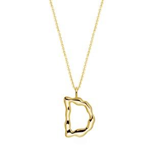 Halskette mit Buchstaben Anhänger D jetzt online kaufen. Kostenlose Lieferung schnell und sicher bei juwelier-winkler.com einkaufen.