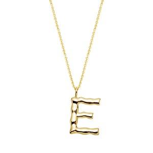 Halskette mit Buchstaben Anhänger E jetzt online kaufen. Kostenlose Lieferung schnell und sicher bei juwelier-winkler.com einkaufen.