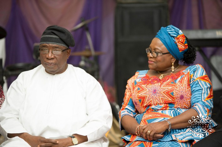 Prof and his ever amiable wife
