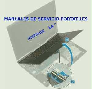 Manuales de Servicio portátiles Dell Inspiron de 14 pulgadas