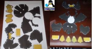 Montar pingüino recortable 01